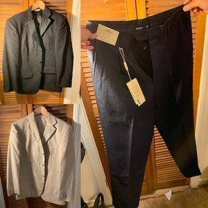 2 suits and one pant
